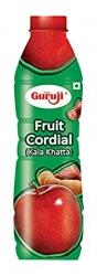 Guruji Fruit Cordial Kala Khatta Squash 750ml
