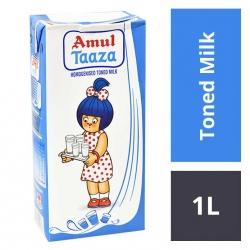 Amul Taaza Toned Milk 1Ltr