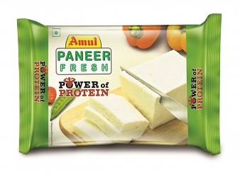 Amul Fresh Paneer Block Pouch 200g