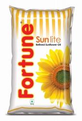 Fortune Sunlite Refined Sunflower Oil 1Ltr