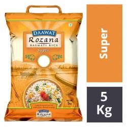 Daawat Rozana Super Basmati Rice 5kg