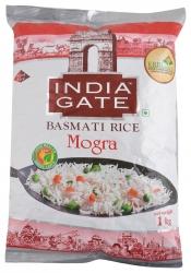 India Gate Basmati Rice Mogra 1kg Pouch