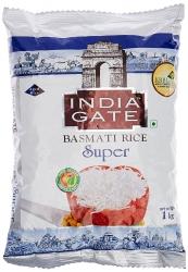 India Gate Basmati Rice Bag Super 1kg