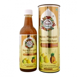 Desert Fruitos Anjeer Pineapple Mockups 500ml