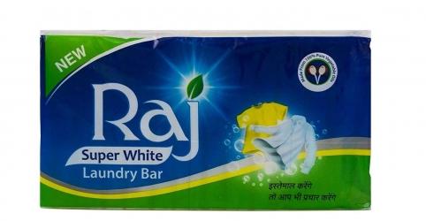 Raj Super White Laundry Soap 750g