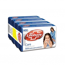 Lifebuoy Care Active Silver 125g Pack of 4