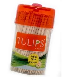 Tulips Toothpicks 250Pcs