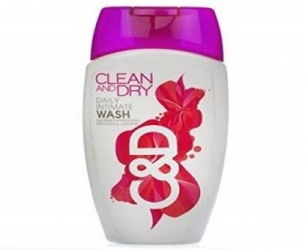 Clean And Dry Daily Intimate Wash 184ml