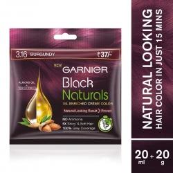 Garnier Black Naturals Burgundy 3.16 20ml+20g