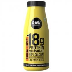 Raw Pressery Banana + Honey Milk Shake 200ml
