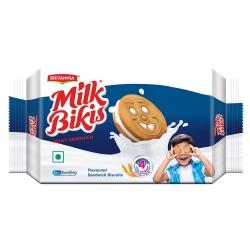 Britannia Milk Bikis Cream Biscuit 200g