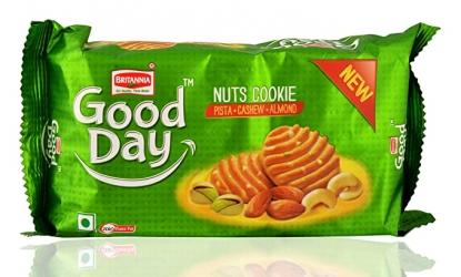 Britannia Good Day Nuts Cookies 200g