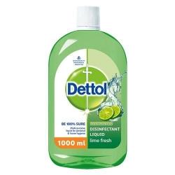 Dettol Liquid Disinfectant Lime Fresh 1Ltr