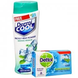 Dermi Cool Prickly Heat Powder Menthol Regular 150g