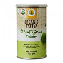 Organic Tattva Wheat Grass Powder 100g