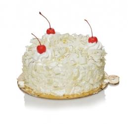 White Forest Cake 500g