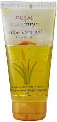 Patanjali Saundarya Aloe Vera Gel With Kesar Chandan 150ml